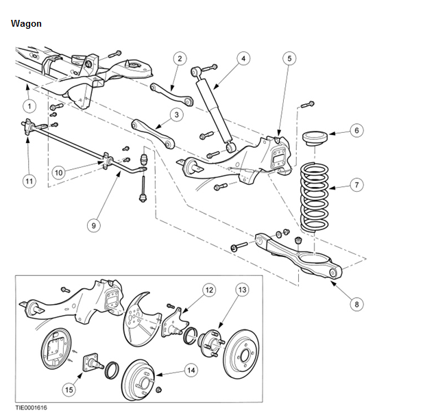 2002 ford focus transmission diagram