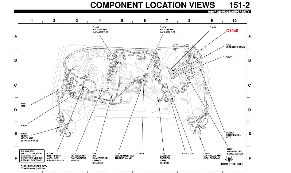 1999 f250 diesel powerstroke 7 3 v8 turbo no brake lights