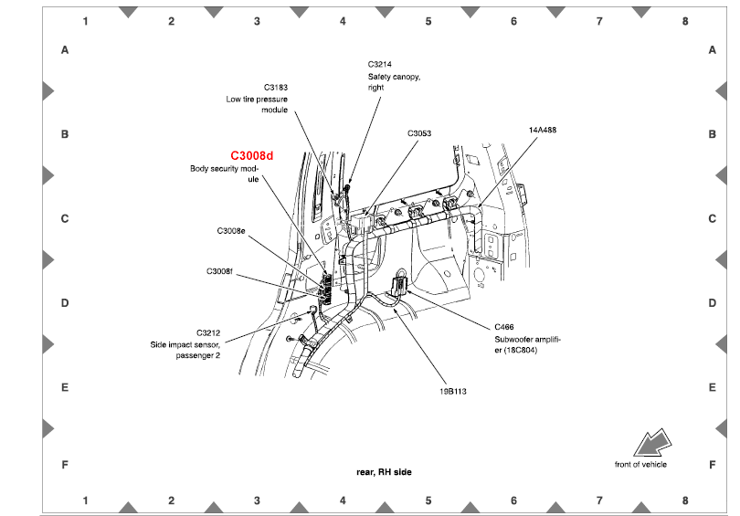 door wiring diagram 2004 mercury monterey  mercury  auto