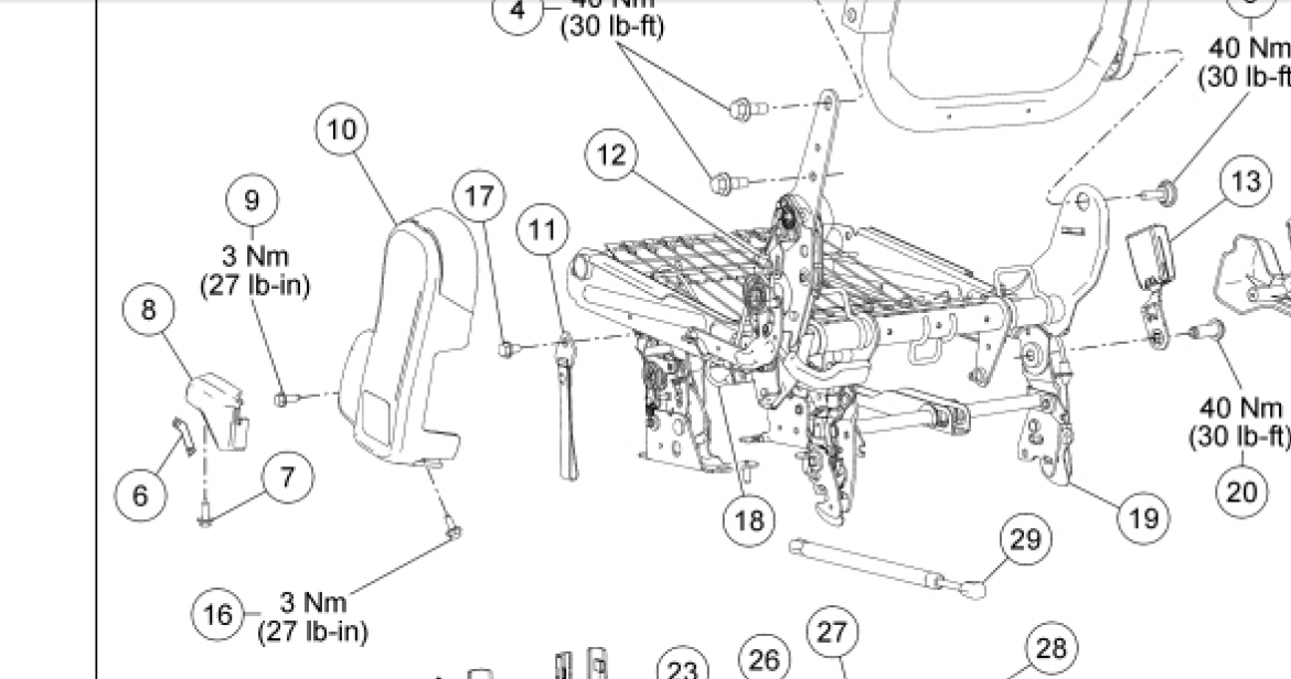 Ford Excursion Parts Diagram further 523v9 Ford F 150 Fx2 Recently Replaced Steering Column likewise RepairGuideContent together with Ford Kingpin Dana 60 Front Axle Diagram likewise P 0900c1528004e3d1. on 1997 ford f350 steering column diagram