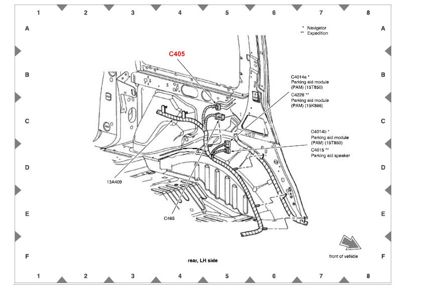 07 lincoln navigator fuse box  lincoln  auto fuse box diagram