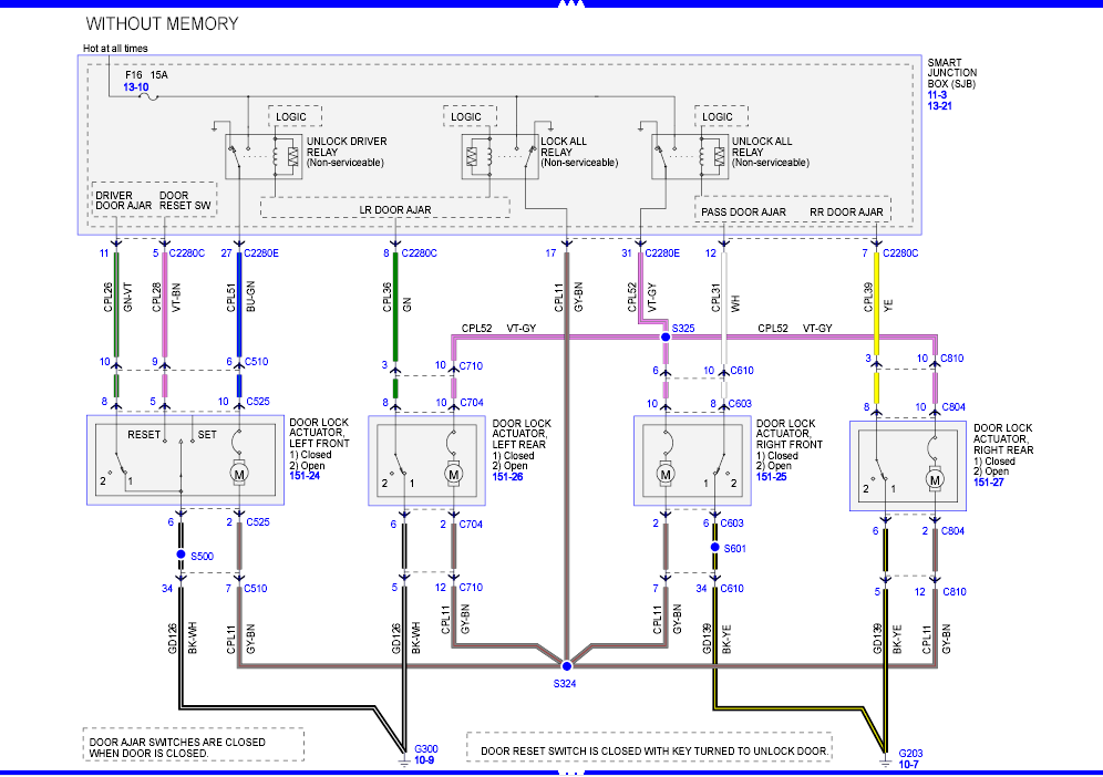 2002 Ford Explorer Door Wiring Diagram