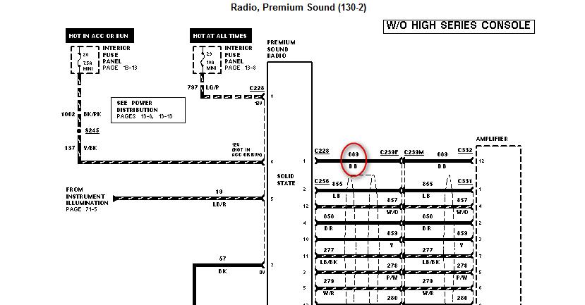1997 Mercury Mountaineer Wiring Diagram