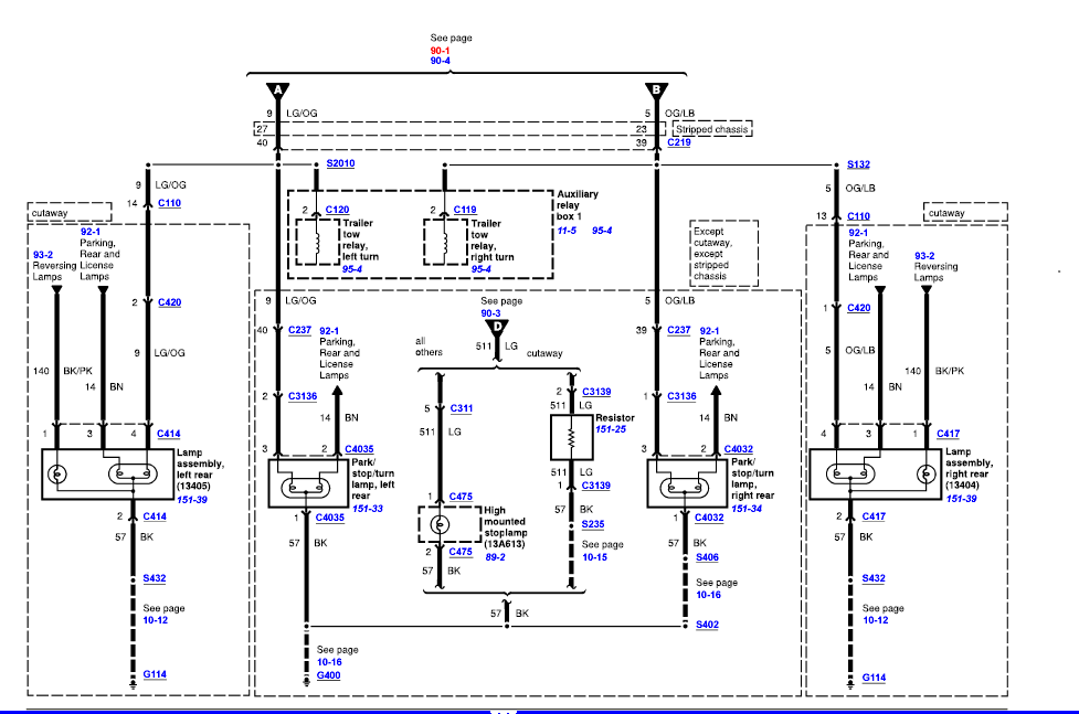 Ford E250 Diagram