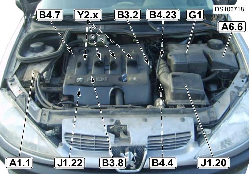 replacing a car fuse box i have a peugeot 206 hdi and yesterday it flashed up with #11