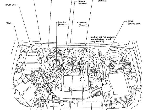 2005 Nissan Armada Fuse Diagram furthermore With Nissan Titan Trailer Wiring Diagram besides 3d79k 2006 Nissan Titan W 5 6 Changed Camshaft besides Nissan Maxima Fuel Pressure Regulator Location also Pathfinder 2002 Fuse Box. on 2006 nissan pathfinder ipdm