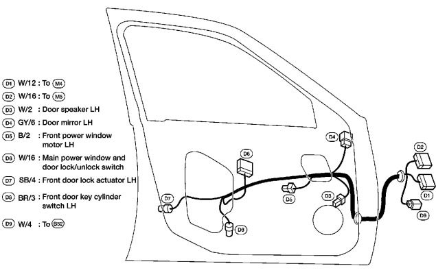 ask 2002 nissan altima door diagram
