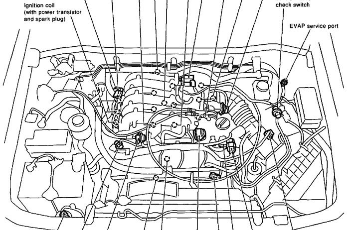 similiar 1991 nissan pathfinder engine diagram keywords 1991 nissan 240sx wiring diagram on nissan 240sx engine parts diagram