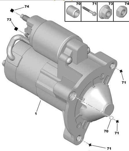 Peugeot 307 Starter Motor Wiring Diagram : Car battery diagram free engine image for user