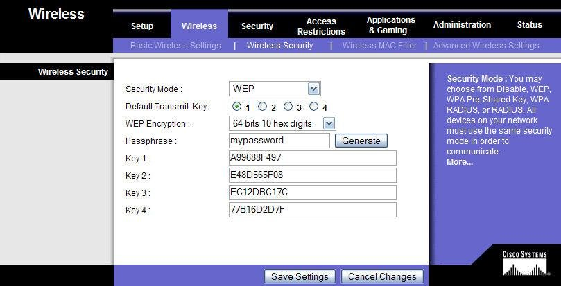 192 168 1 1admin wireless settings password web frompo 1