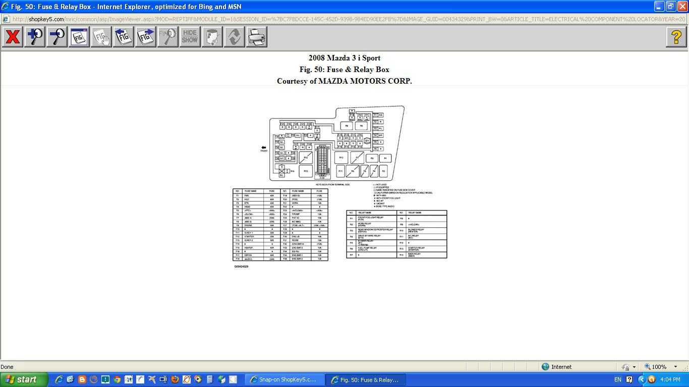 relay diagram 2006 mazda 3  relay  free engine image for