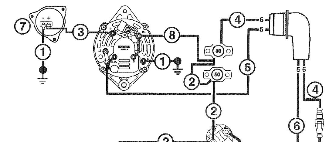 leece neville alternator wiring diagram leece omc alternator wiring diagram omc wiring diagrams online on leece neville alternator wiring diagram