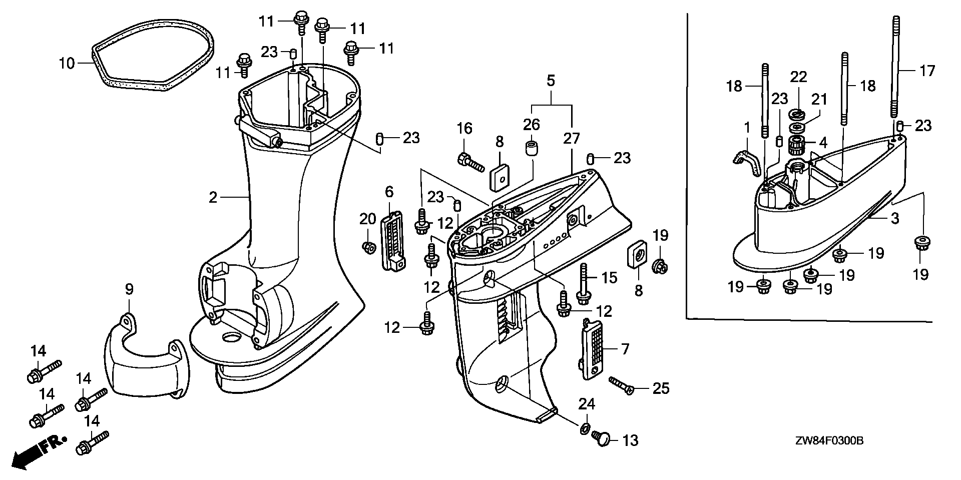 Bf on Yamaha Outboard Cooling System Diagram