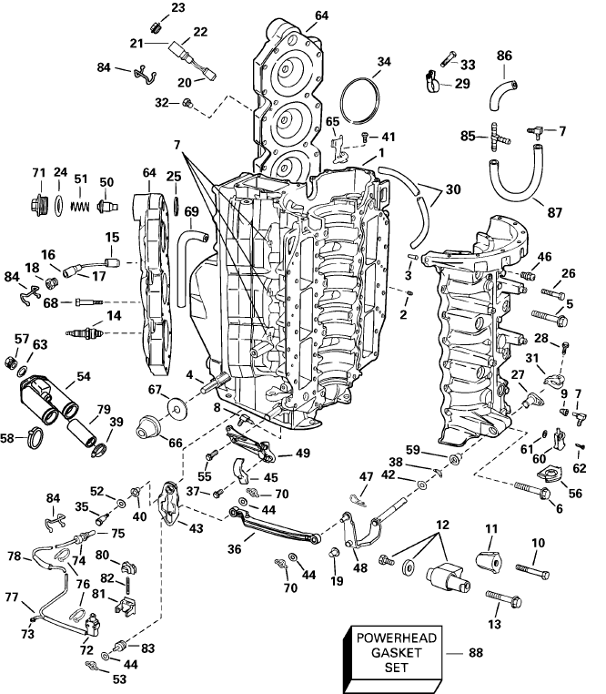 mercury 225 optimax engine diagram