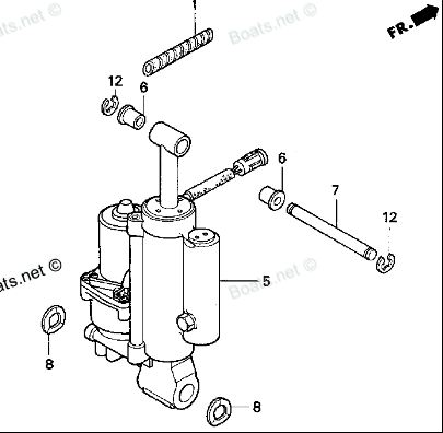Bf 40 tilt motor stuck or us motor down how can i raise for How to raise outboard motor