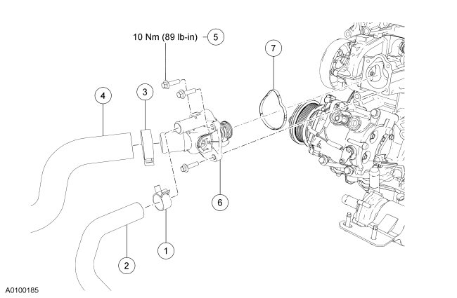 2013 ford escape battery location  2013  free engine image