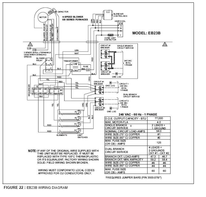 intertherm electric furnace wiring diagram the knownledge