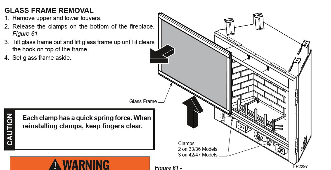 - I Have A Majestic Gas Fireplace Insert That I Want To Remove