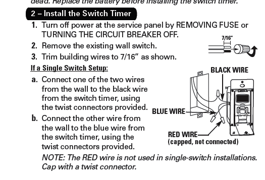 How to wire intermatic t and timers