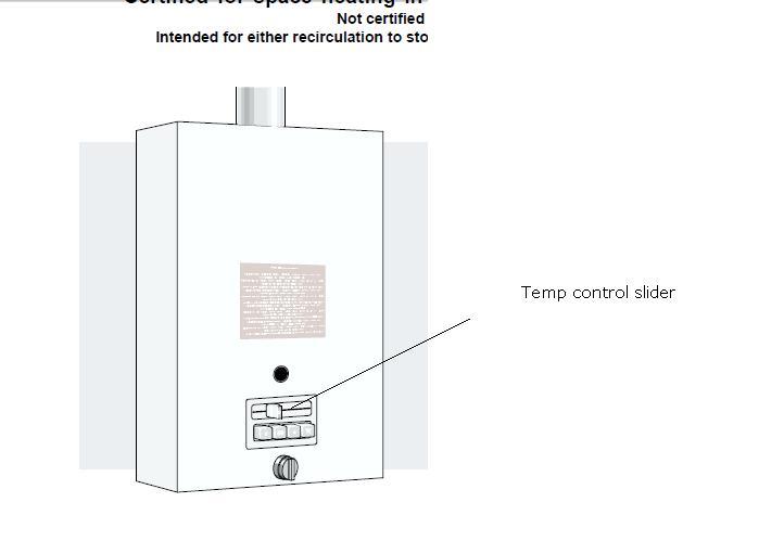 I Have A Bosch Aquastar Tankless Water Heater Model 125b