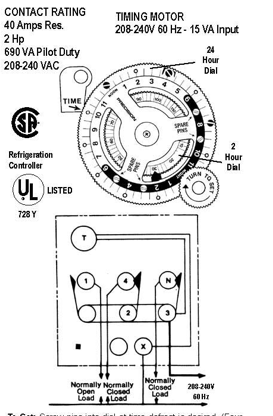 Defrost Timer 8141 20 Wiring Diagram on freezer diagram