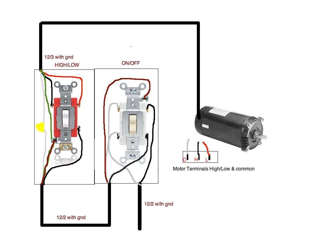 51xwd Connect Speed Pool Pump Motor Toggle Swi on 1081 pool motor wiring diagram