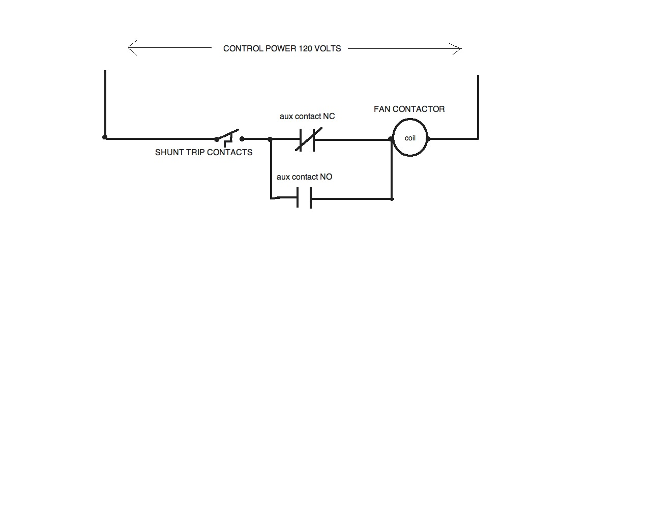 Is There A Contactor That Will Hold Open On Its Own Without - Relay normally open