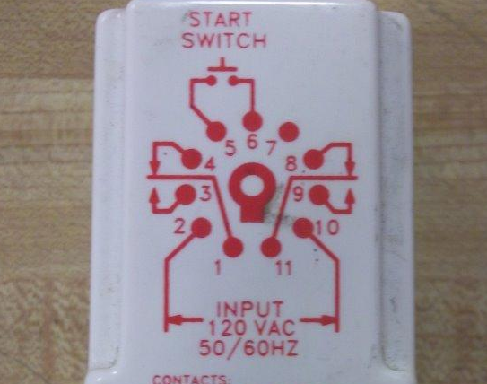 need to wire in a dayton 11 pin time delay relay to pull