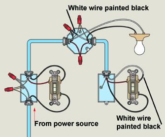 3 Way Switch Wiring Diagram readingratnet