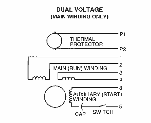 wiring diagram for 230 volt 1 phase motor – the wiring diagram, Wiring diagram