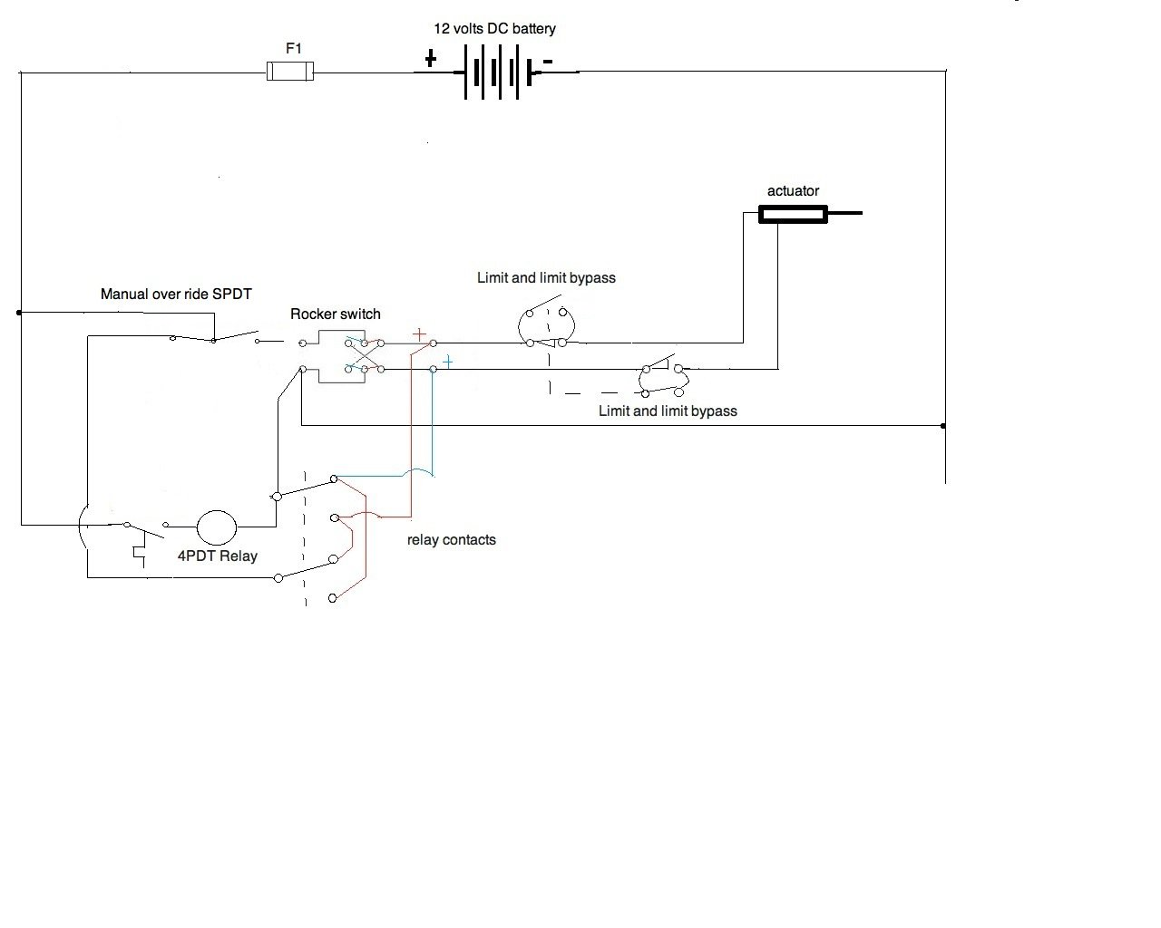 I Need A Wiring Diagram For A 12v Application  All