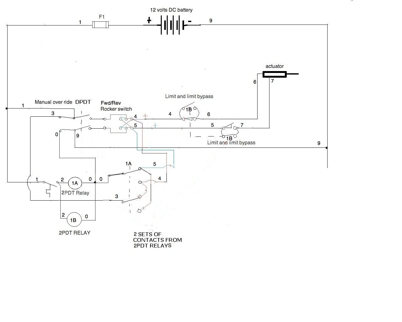 i need a wiring diagram for a 12v application all components you will have the power leads coming in and going out to actuator and the thermostat wire plan cable connectors for them