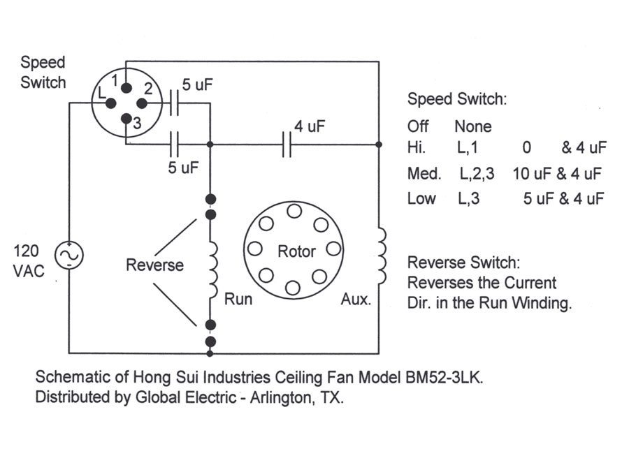 schematic 3 speed fan the wiring diagram i need a color code wiring diagram schematic