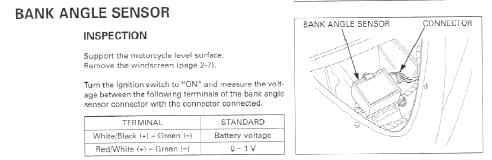 How to get a honda cbr 1100xx fuel pump working