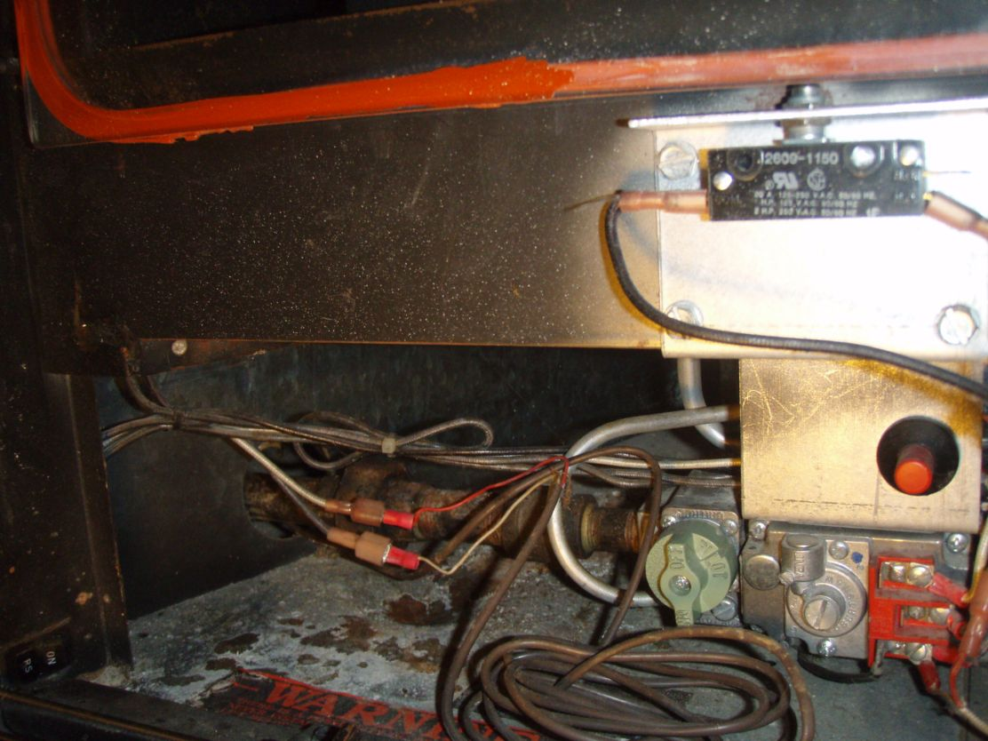 Gas Log How To Light A Fireplace With Pilot Fireplaces Electrical Wiring Images Of