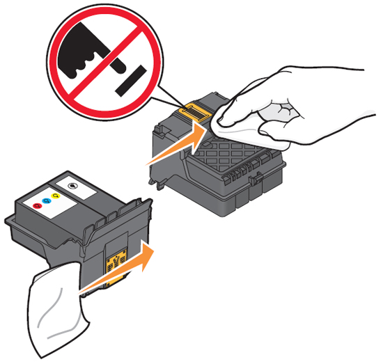 how to clean printhead hp 6830