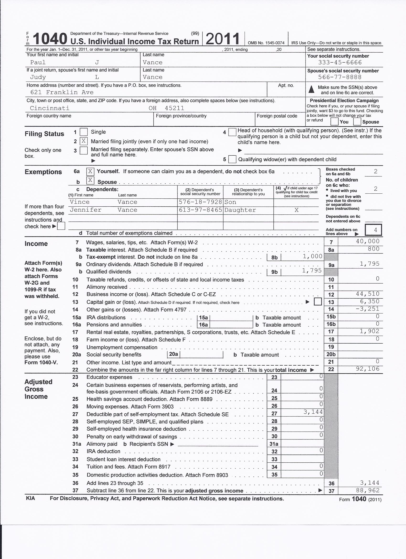 Irs tax form 1040 2012 quotes for 1040x instructions tax table