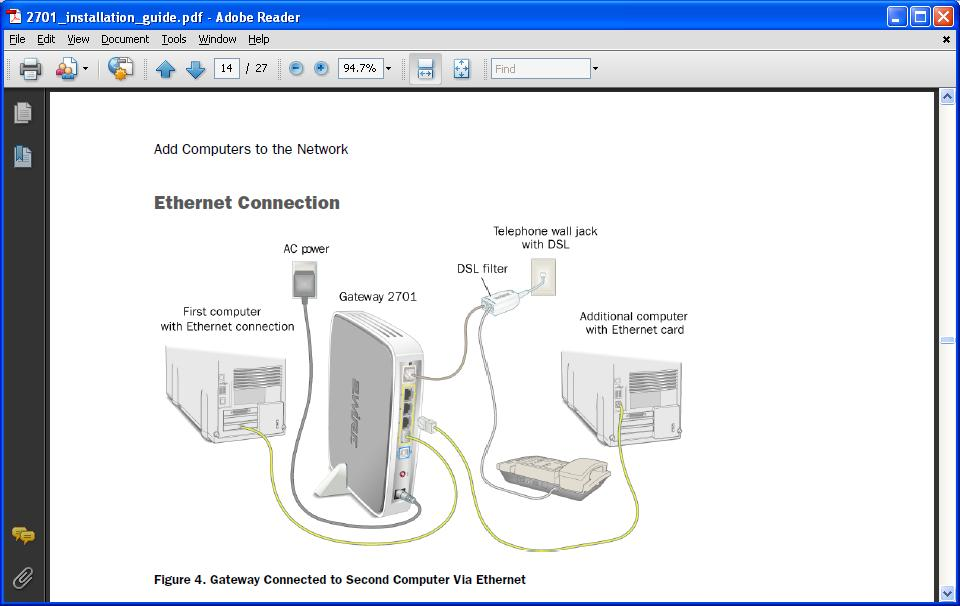 i am trying to install a captel 800i captioned telephone leave the captel ethernet cable connected to the first port