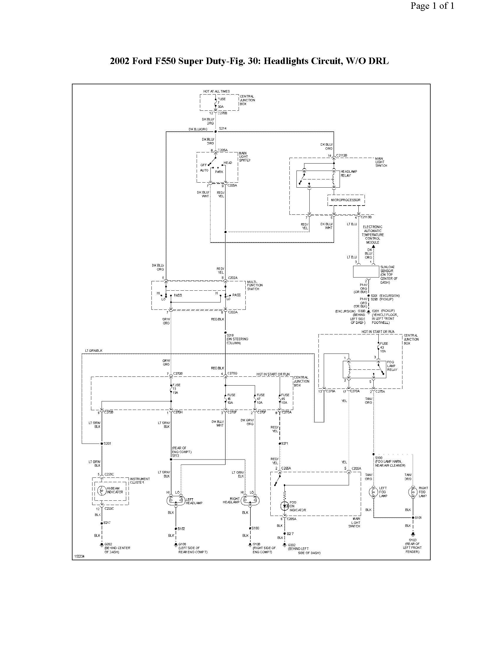 2002 ford f550 fuse box 2014 ford f550 fuse box i am working on a 02 f550 super duty 7.3l 4wd fuse 44 kept ...