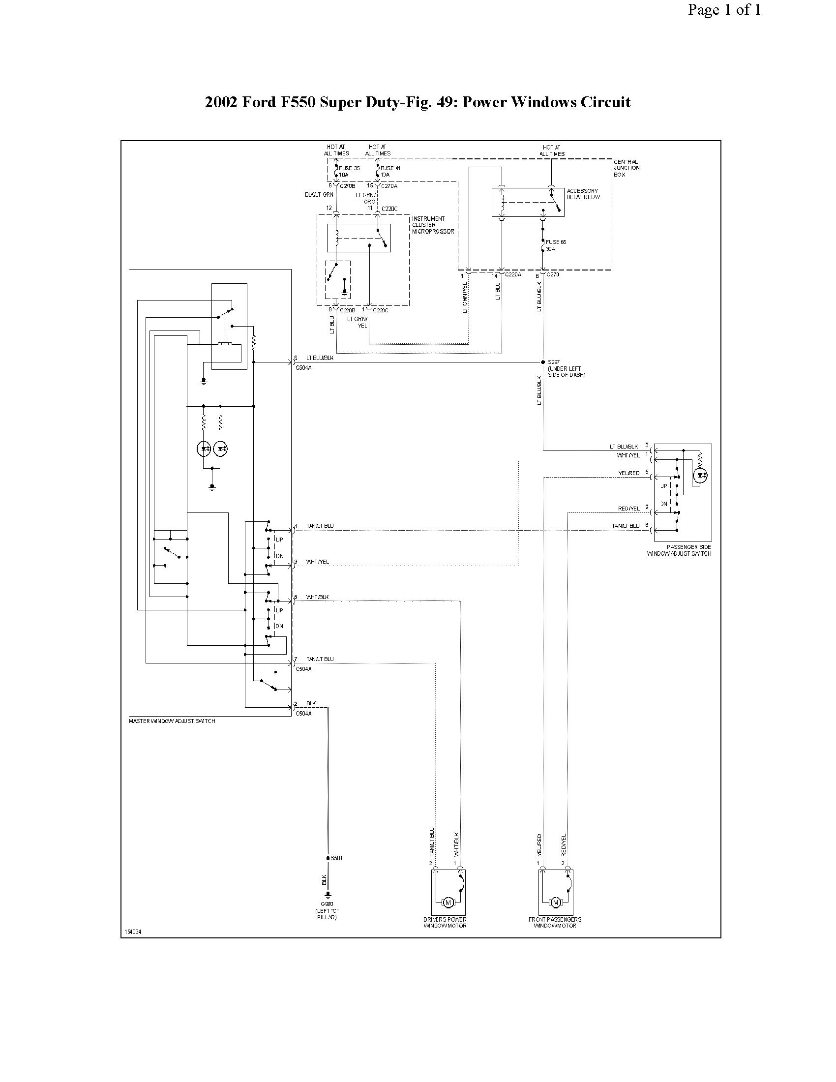 i am working on a 02 f550 super duty 7 3l 4wd fuse 44 kept