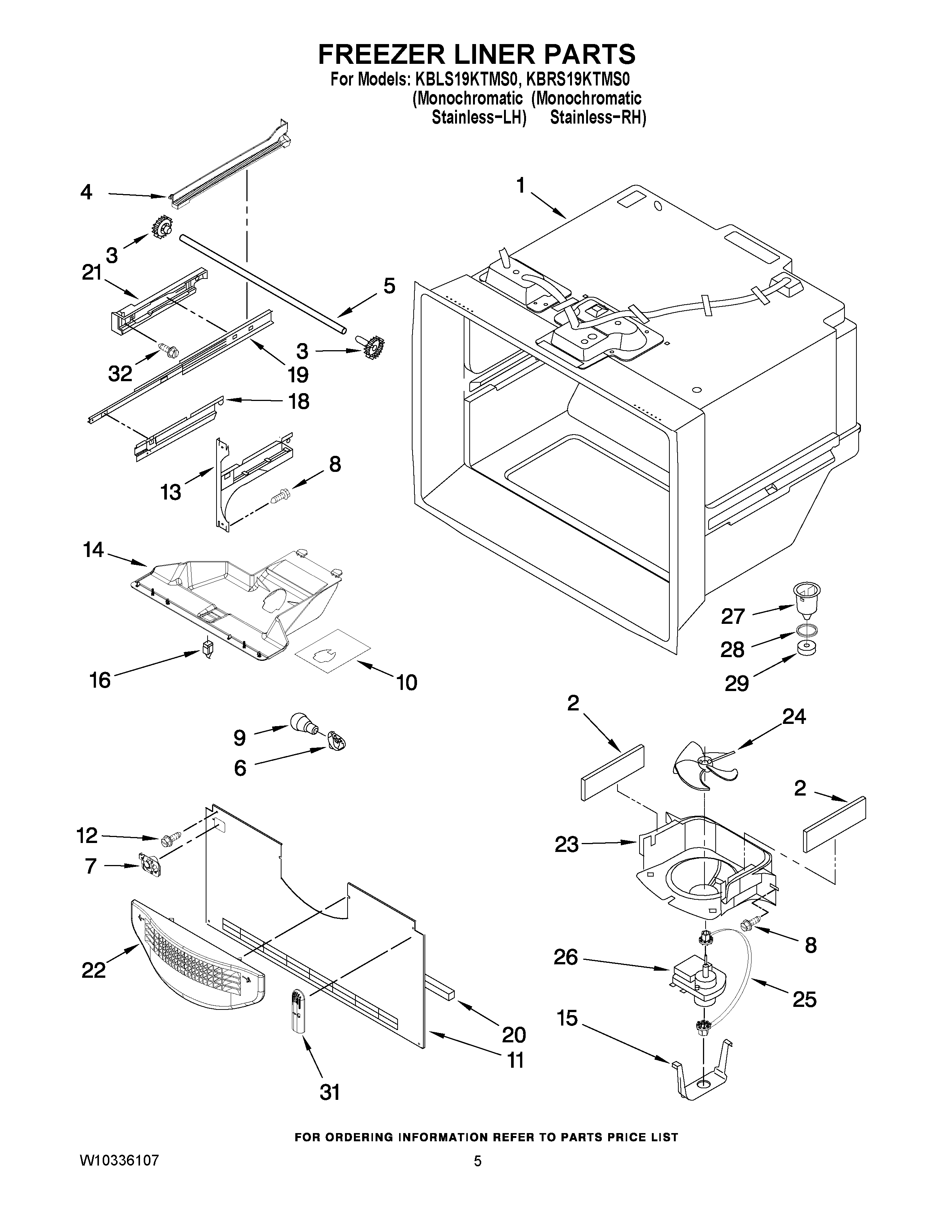 instruction to install the amana 1c13b ice maker in a