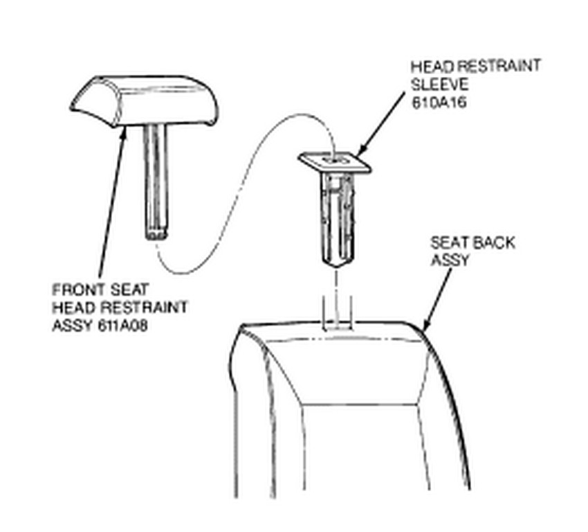 service manual  how to remove head rest on a 1992 jaguar