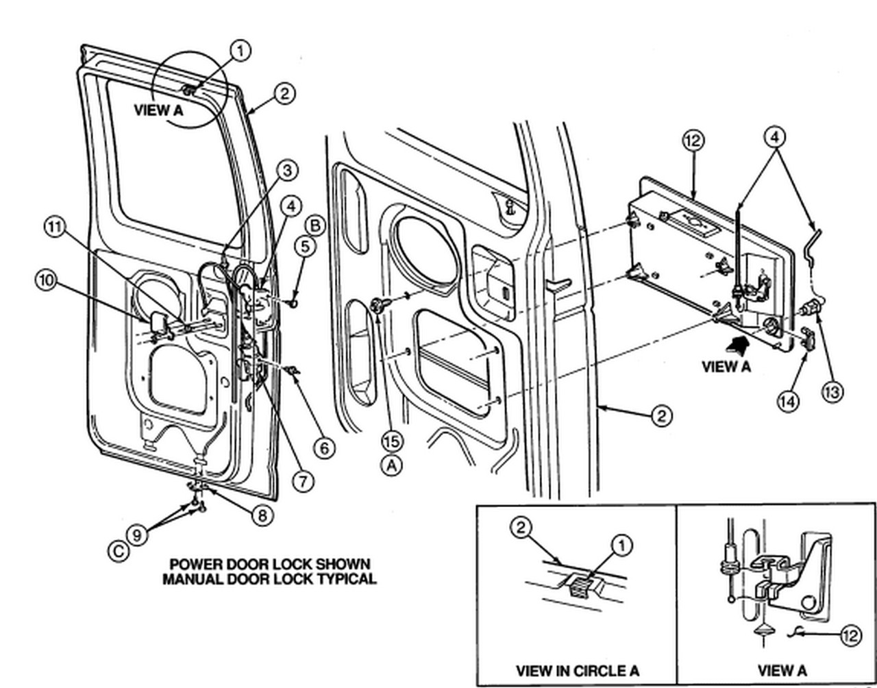2000 ford econoline van repair manual