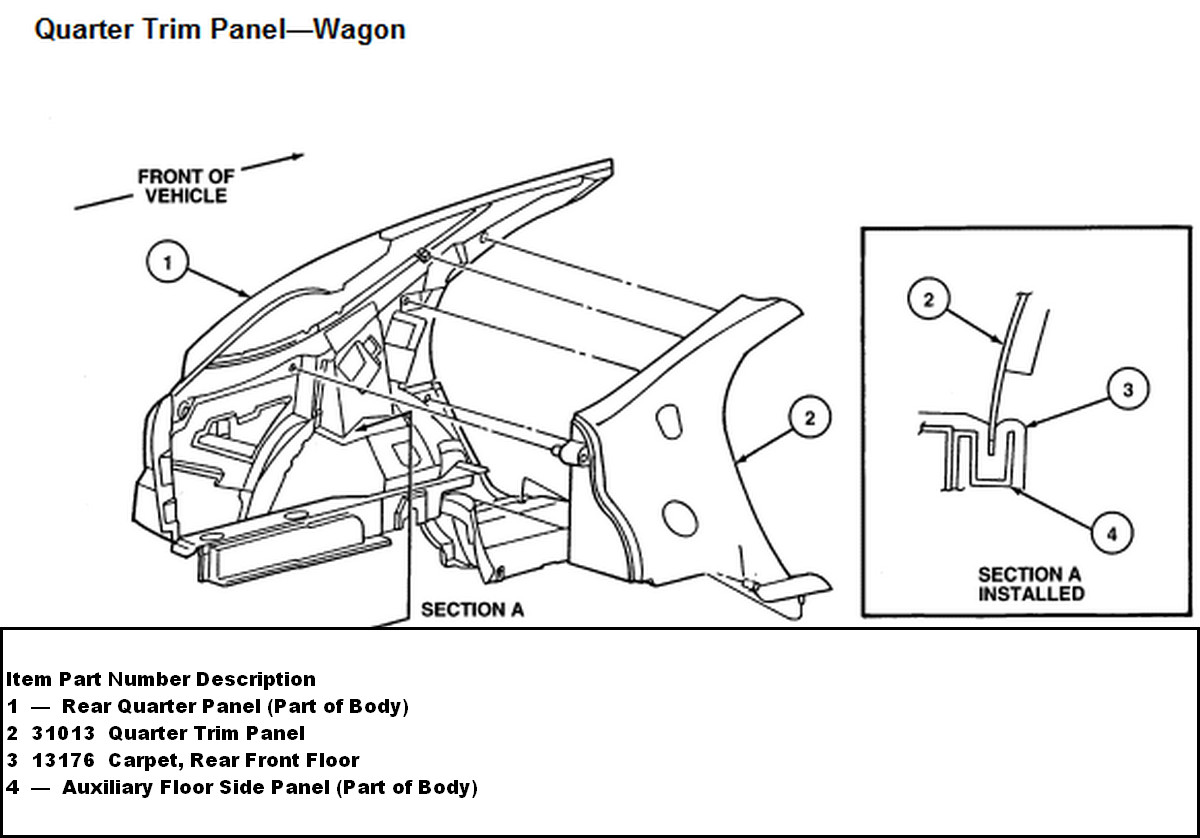 service manual  1995 ford club wagon antenna removal