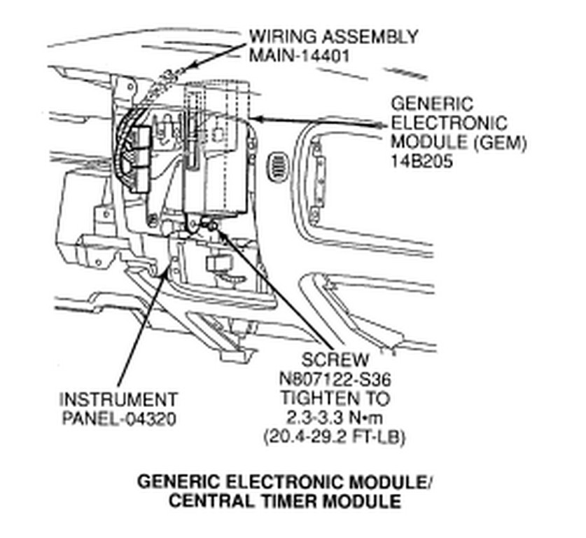 1999 ford ranger gem wiring 97 ford ranger gem wiring diagram