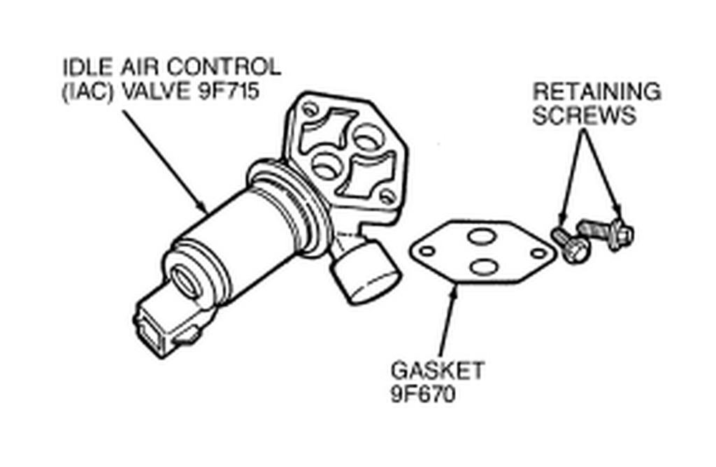 service manual  2009 ford taurus idle air control