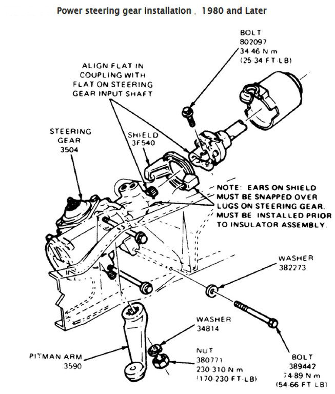 box diagram gear toyota