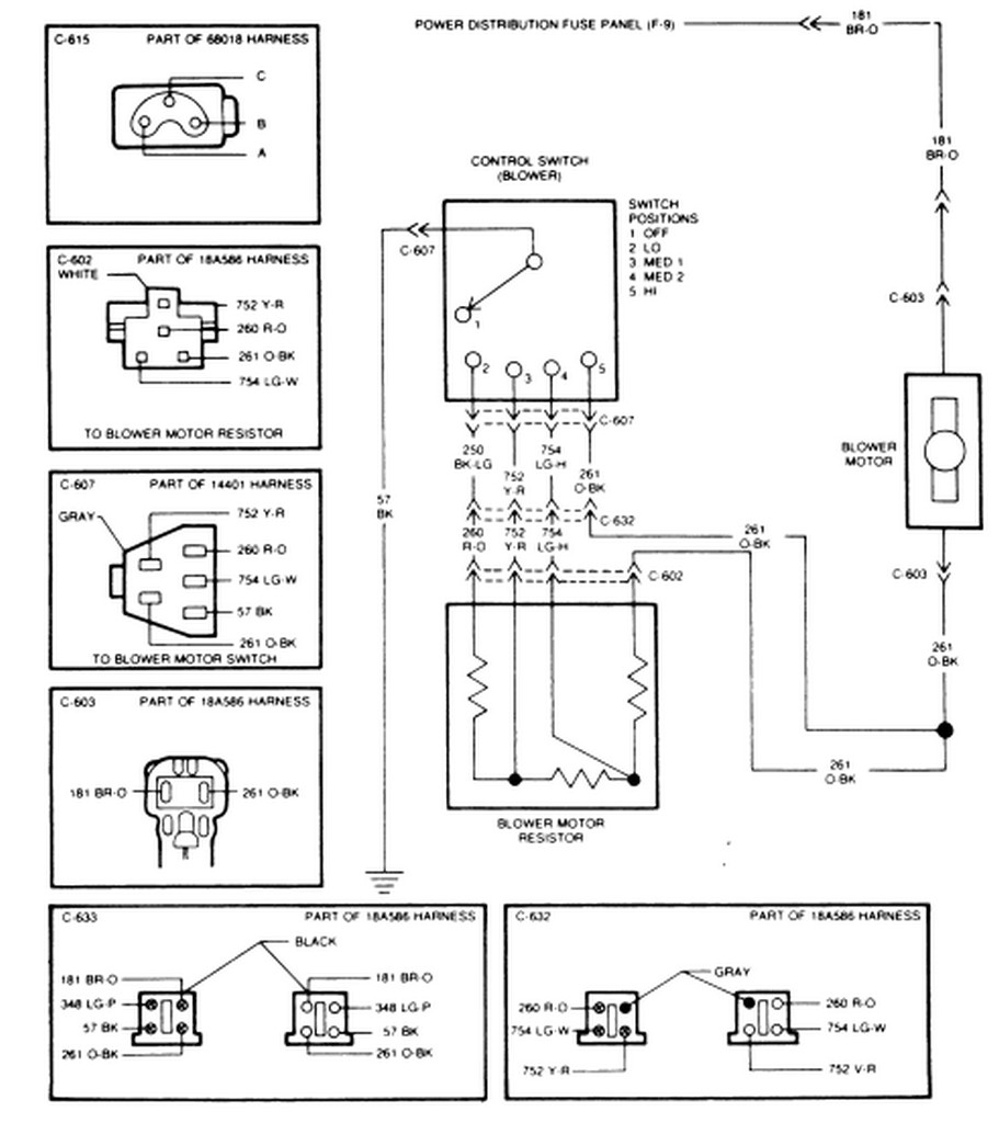 blower motor resistor ford wiring diagram wire blower free engine image for user manual