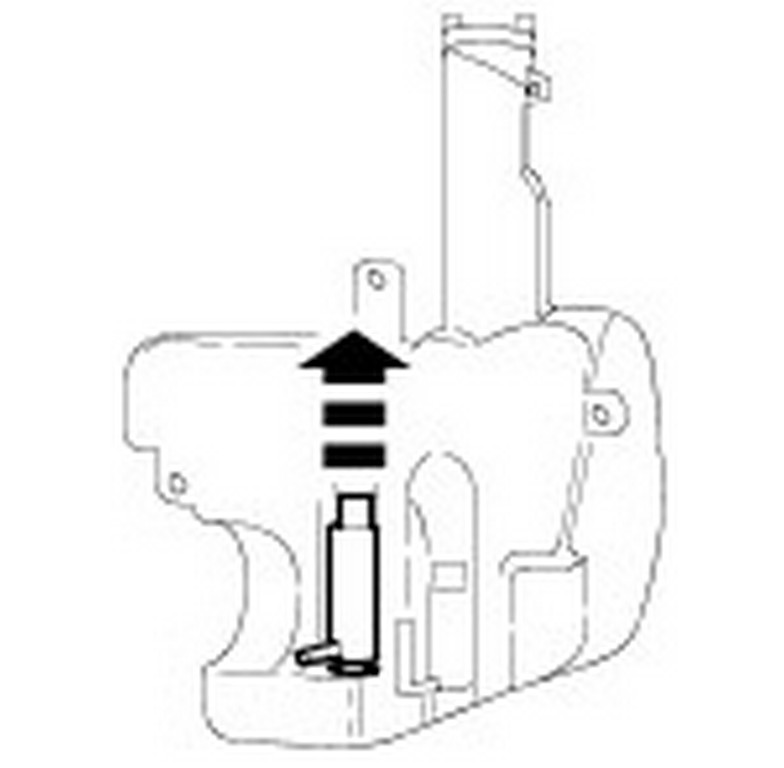 ford focus windshield washer pump location  ford  free