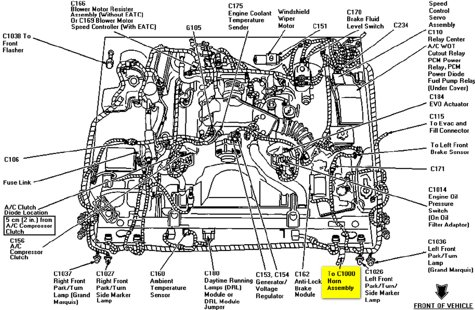 94 mercury marquis wiring diagram  94  free engine image